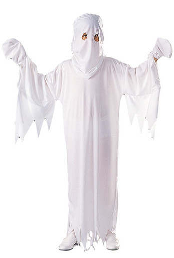 Child Friendly Ghost Halloween Costume Large 12-14