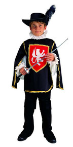 Musketeer Child Costume Small 4-6
