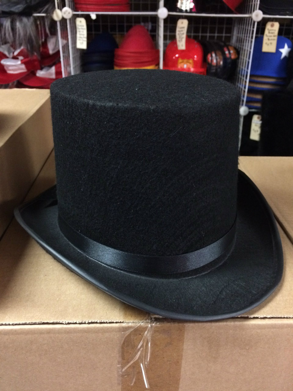 5cee2b90197 ... 12pc Tall Lincoln Style Top Hats. Image 1. Loading zoom