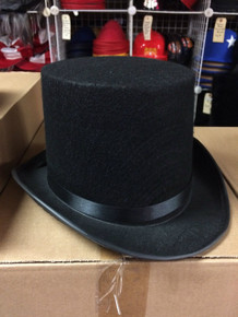 12pc Tall Lincoln Style Top Hats