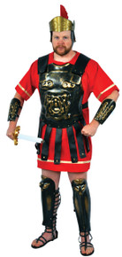Gold Washed Roman Armor Adult Set