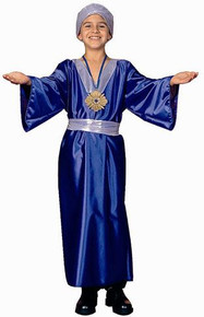 Blue Wisemen Child Costume