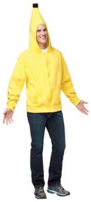 Hoodie Banana Adult Costume