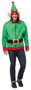 Elf Adult Hoodie Medium
