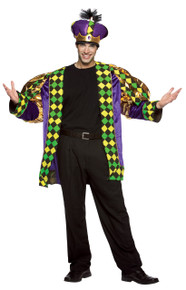 Mardi Gras King Adult Costume