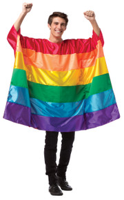 Rainbow Flag Tunic Adult Costume