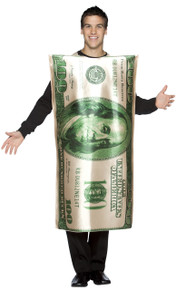 100 Dollar Bill Adult Costume
