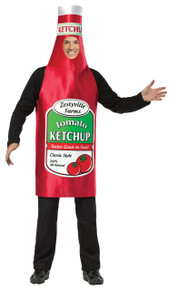 Ketchup Zestyville Adult Costume