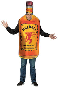 Fireball Bottle Adult Costume