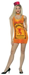 Fireball Bottle Tank Dress Adult Costume