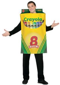 Crayola Crayon Box Adult Costume
