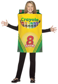 Crayola Crayon Box Child Costume 7-10