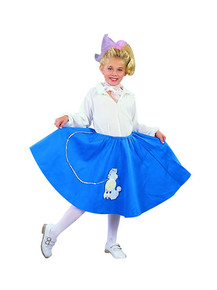 50's Poodle Skirt Child Costume