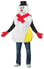 Yellow Snowman Costume