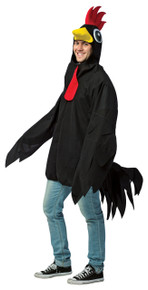 Rooster Adult Costume Black
