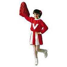 Red & White Cheerleader Child Costume