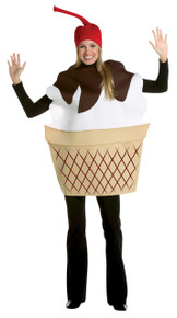 Ice Cream Sundae Adult Costume