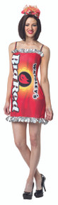 Wrigley's Gum Big Red Dress Adult Costume