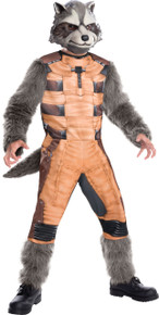 Rocket Raccoon Deluxe Child Costume Small