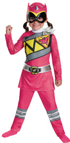 Pink Ranger Classic Child Costume Sml 4-6