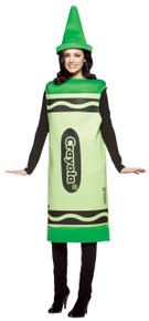 Crayola Costume Green SM/MD