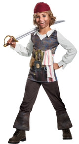 Captain Jack Sparrow Classic Child Costume Small
