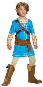 Link Breath of the Wild Deluxe Child Costume 14-16