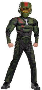 Halo Wars Jerome Muscle Child Costume