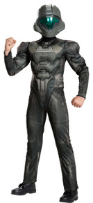 Halo Spartan Buck Muscle Child Costume