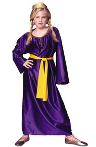 Queen Esther Costume Child SML 4-6