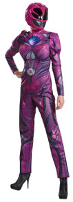 Power Ranger Pink Movie Deluxe Adult Costume
