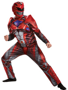 Power Ranger Red Movie Muscle Adult Costume
