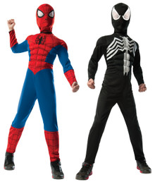 Spiderman Reversible Deluxe Child Costume