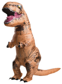 T Rex Jurassic World Inflatable Adult Costume