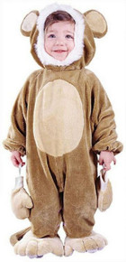 Cuddly Monkey Inf/Tod Costume