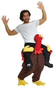 Turkey Trot Piggyback Adult Costume