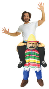 Cinco De Mayo Piggyback Adult Costume