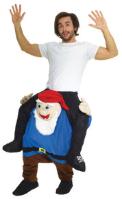Gnome Piggyback Adult Costume