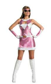 Power Ranger Sassy Pink  Adult Costume