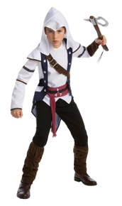 Assassin's Creed Connor Teen Costume 14-16
