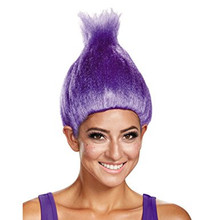 Trolls Wig Purple