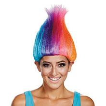 Trolls Rainbow Wig