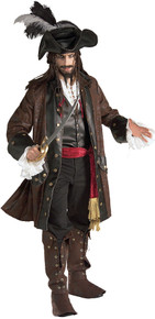 Caribbean Pirate Deluxe Adult Costume
