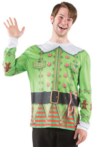 Ugly Elf Christmas Adult Sweater
