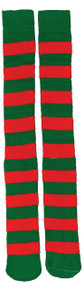 Red & Green Christmas Socks