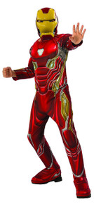 Iron Man Avengers Infinity War Deluxe Child's Costume Large 12-14