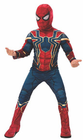 Iron Spider Avengers Infinity War Deluxe Child's Costume Large
