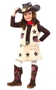 Cool Cowgirl Child Costume