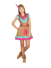 Native Beauty Child Costume