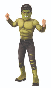 The Incredible Hulk Avengers Infinity War Deluxe Child Costume